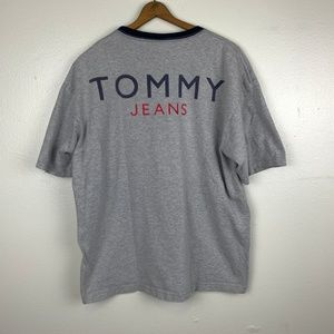 RARE Tommy Hilfiger Spellout Logo Tee XL